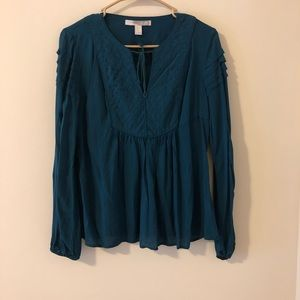 ‼️2 for $20‼️ Forever 21 Deep Teal Baby doll top